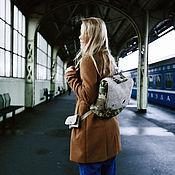 Сумки и аксессуары ручной работы. Ярмарка Мастеров - ручная работа унисекс милитари сумка-рюкзак с сумочкой на пояс. Handmade.