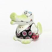 Для дома и интерьера handmade. Livemaster - original item Salt crocodiles porcelain Gobel Germany. Handmade.