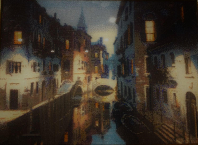 «Ночная Венеция», Картины, Саратов,  Фото №1