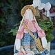 Куклы Тильды ручной работы. Ярмарка Мастеров - ручная работа. Купить Зайка Агата. Handmade. Тильда, рождественский подарок