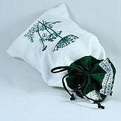 Для дома и интерьера handmade. Livemaster - original item linen bag for storage of dried dill, herbs.. Handmade.