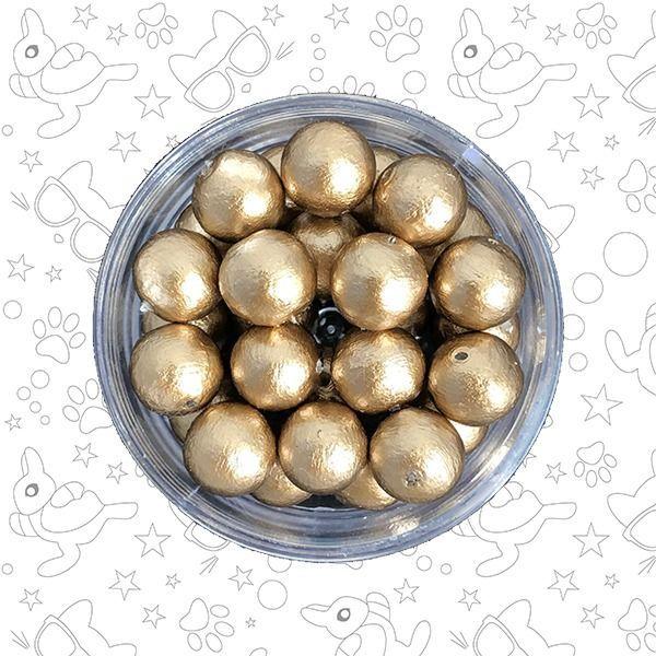Жемчуг хлопковый  Gold 10 мм, Бусины, Москва,  Фото №1