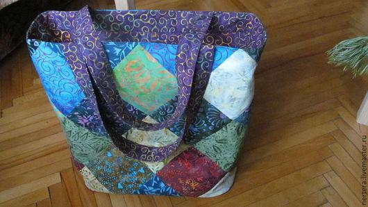 Женские сумки ручной работы. Ярмарка Мастеров - ручная работа. Купить Сумка в стиле пэчворк. Handmade. Орнамент, текстильная сумка