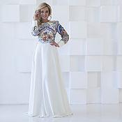 Одежда handmade. Livemaster - original item Dress white to the floor
