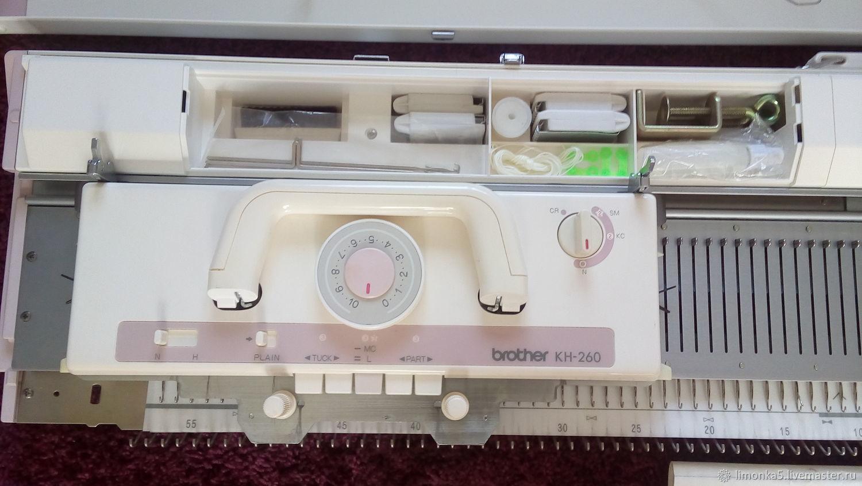 Вязание ручной работы. Ярмарка Мастеров - ручная работа. Купить Вязальная машина Brother KH260/KR260 3 класс Япония. Handmade.