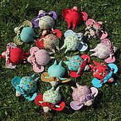 Куклы и игрушки ручной работы. Ярмарка Мастеров - ручная работа Тильда жучок летний. Handmade.