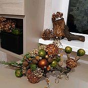 """Композиции ручной работы. Ярмарка Мастеров - ручная работа Композиция новогодняя """"Улитка"""". Handmade."""