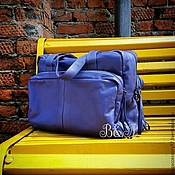 Сумки и аксессуары handmade. Livemaster - original item Sports bag made of genuine leather. Handmade.
