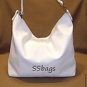 Сумки и аксессуары handmade. Livemaster - original item The bag is white, soft, feminine.To buy a leather bag.. Handmade.