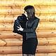 """Верхняя одежда ручной работы. Куртка стеганая на молнии """"Черные розы"""". OLGA'Z. Ярмарка Мастеров. Укороченный рукав, стёганая ткань"""
