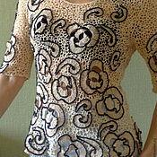 Одежда ручной работы. Ярмарка Мастеров - ручная работа Кофта ,ирландское кружево .. Handmade.