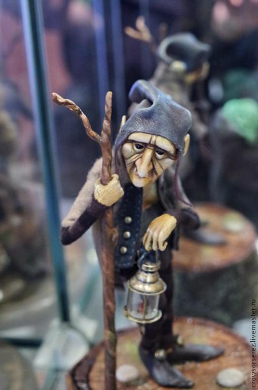 Коллекционные куклы ручной работы. Ярмарка Мастеров - ручная работа. Купить Ночь на Холлан - Тайд. Handmade. Коричневый, легенды, ladoll