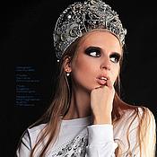 Одежда ручной работы. Ярмарка Мастеров - ручная работа Свитшот из коллекции RUSiberia (7). Handmade.
