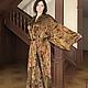Фото женского кимоно из натурального шёлка.