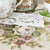 """Столы ручной работы. Ярмарка Мастеров - ручная работа Роспись мебели. Столик """"Мятный чай"""". Handmade."""