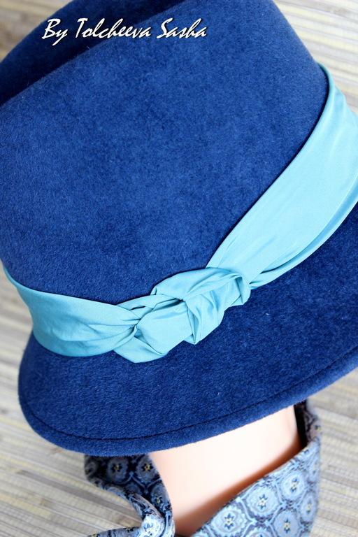 Шляпы ручной работы. Ярмарка Мастеров - ручная работа. Купить Намёк на бирюзинку. Шляпа. Женская.. Handmade. Шляпа, шляпу купить