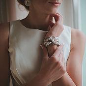 Украшения ручной работы. Ярмарка Мастеров - ручная работа Браслет для невесты (свадебный). Handmade.