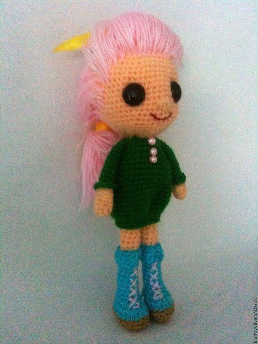 Кукольный дом ручной работы. Ярмарка Мастеров - ручная работа. Купить Вязаная куколка.. Handmade. Комбинированный, кукла, мягкая пряжа