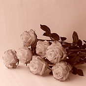 Цветы и флористика handmade. Livemaster - original item Copy of Roses from polymer clay. Handmade.