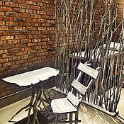 Для дома и интерьера ручной работы. Ярмарка Мастеров - ручная работа Мебель в стиле лофт для салона красоты.Дерево. Handmade.