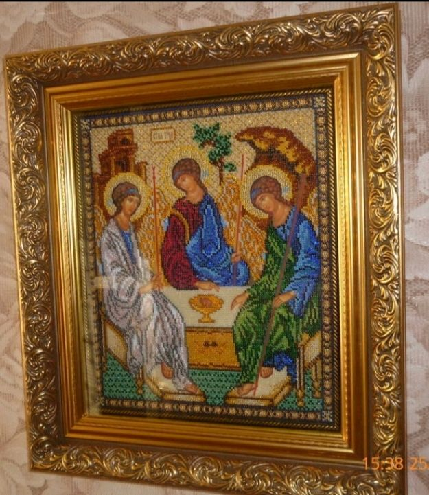 The Icon Of The Holy Trinity, Icons, Saransk,  Фото №1