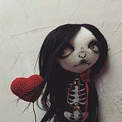"""Куклы и пупсы ручной работы. Ярмарка Мастеров - ручная работа Кукла ручной работы """"Ну очень странная"""". Handmade."""