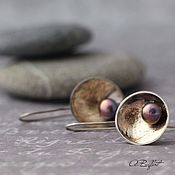 Украшения handmade. Livemaster - original item earrings made of German silver