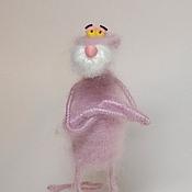 Куклы и игрушки ручной работы. Ярмарка Мастеров - ручная работа Розовая пантера.. Handmade.