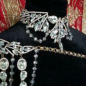 Свадебный салон ручной работы. Ярмарка Мастеров - ручная работа Портупея,  Эполет,   украшение на плечо. Handmade.