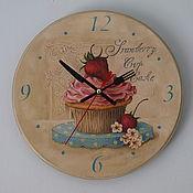 """Для дома и интерьера ручной работы. Ярмарка Мастеров - ручная работа Часы """"Сладкая жизнь"""". Handmade."""
