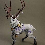 Статуэтки ручной работы. Ярмарка Мастеров - ручная работа Друид (облик оленя World of Warcraft). Handmade.