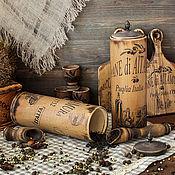 Для дома и интерьера handmade. Livemaster - original item A set of jars for bulk products the