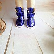 Одежда для кукол ручной работы. Ярмарка Мастеров - ручная работа Ботинки из кожзама  для Паолы , 5 см. Handmade.