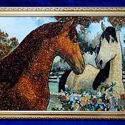 handmade. Livemaster - original item Paintings of animals, decorated with amber.. Handmade.