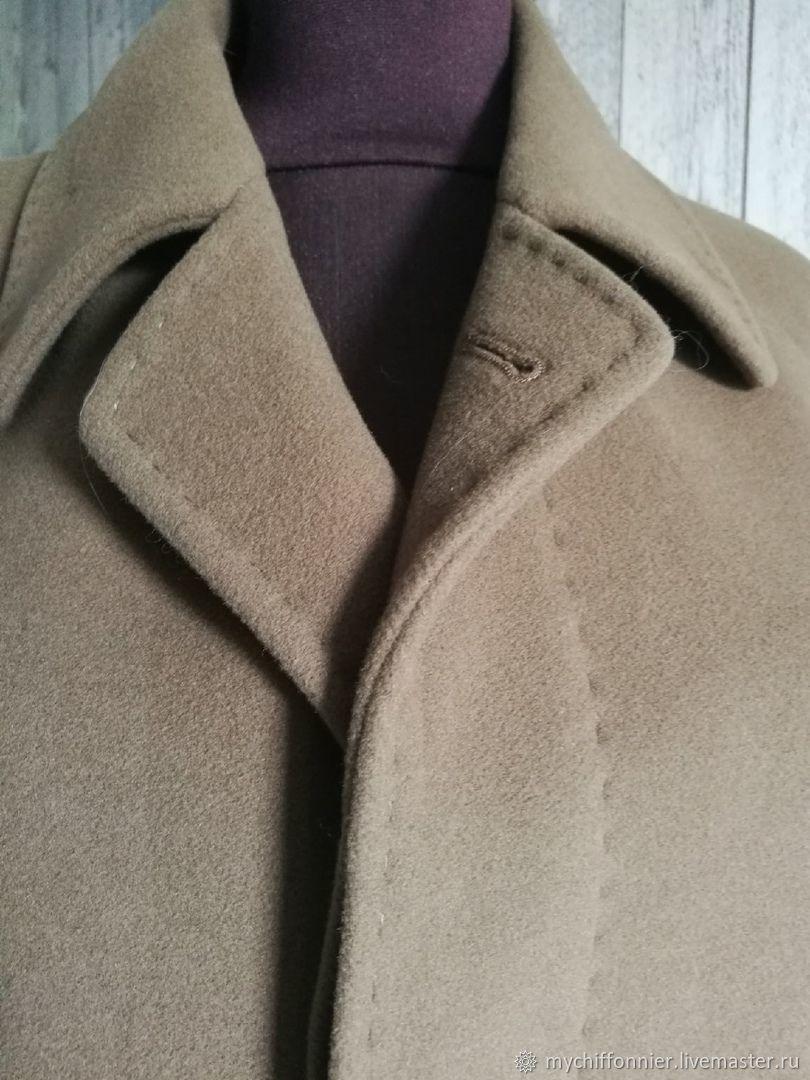 Винтаж: Пальто (шерсть+кашемир) от BUGATTI, Одежда винтажная, Тольятти,  Фото №1