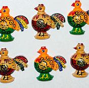 Сувениры и подарки handmade. Livemaster - original item Cock magnet. Handmade.