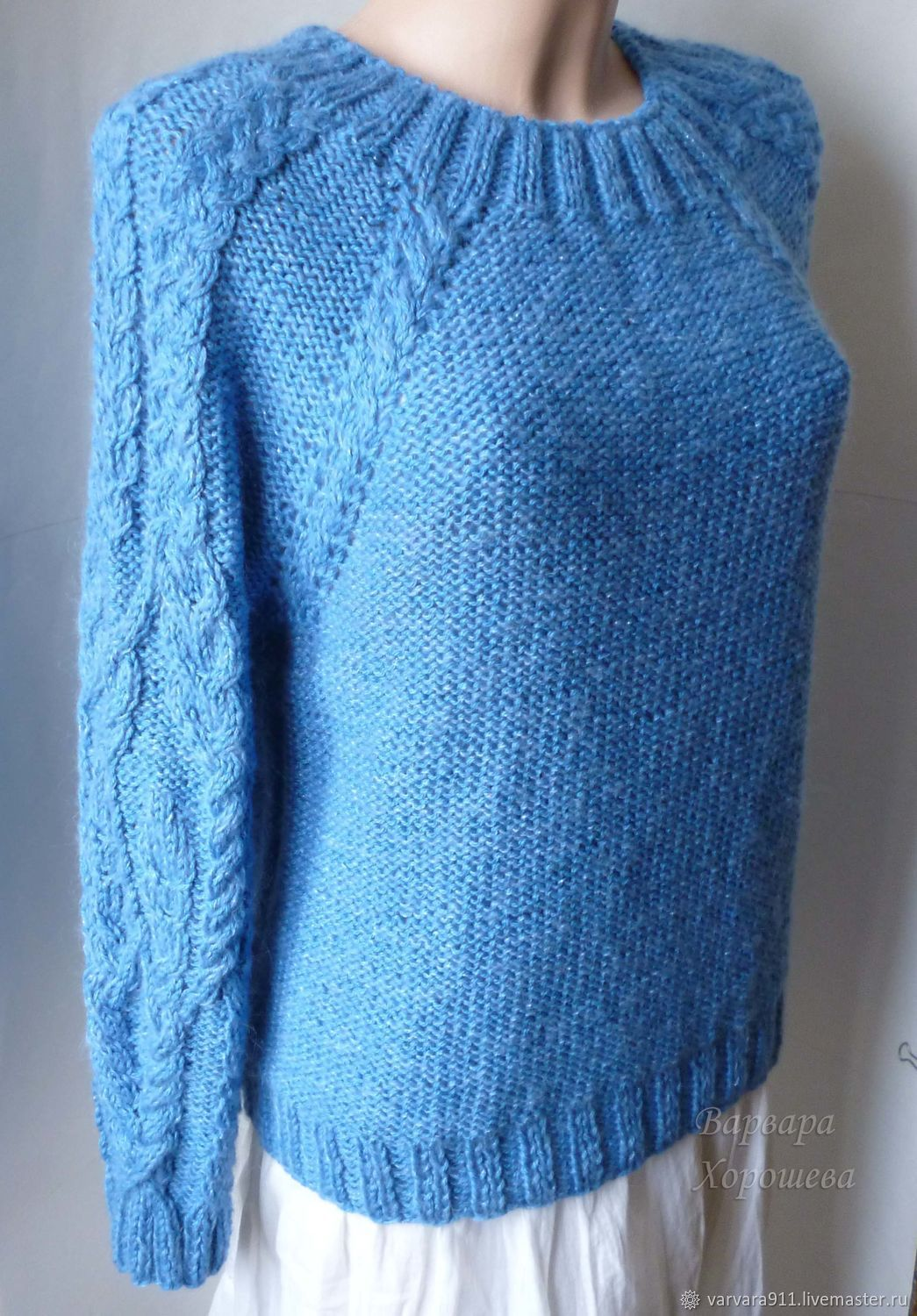 Jumper with fashionable weaves, Jumpers, Stary Oskol,  Фото №1
