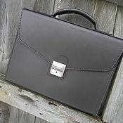 Сумки и аксессуары handmade. Livemaster - original item Classic,business portfolio.. Handmade.