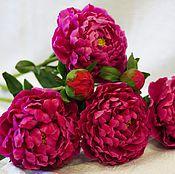 Цветы и флористика ручной работы. Ярмарка Мастеров - ручная работа Пионы. Handmade.