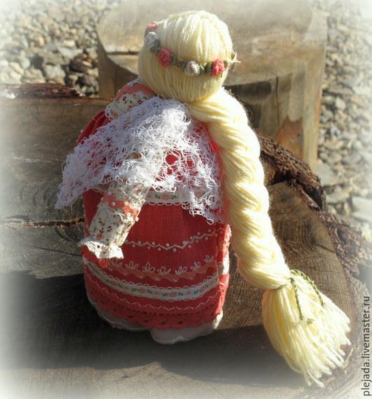 """Народные куклы ручной работы. Ярмарка Мастеров - ручная работа. Купить Куколка """"На беременность"""".. Handmade. Народная кукла, лён"""