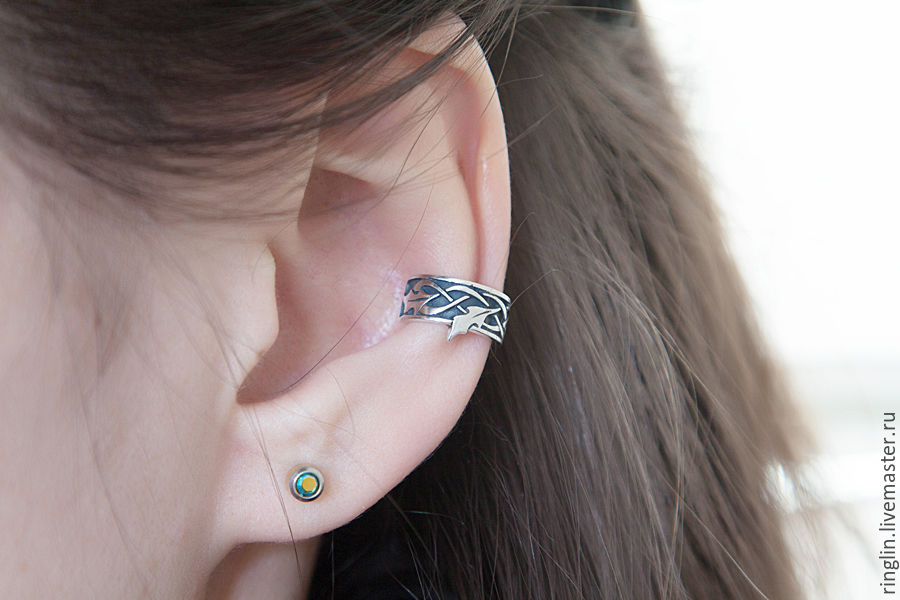 Holly ear cuff, Cuff Earrings, Moscow,  Фото №1