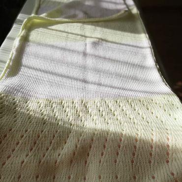 Текстиль ручной работы. Ярмарка Мастеров - ручная работа Плед детский вязаный, ручная работа. Handmade.