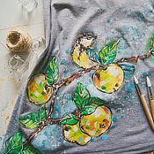 Одежда ручной работы. Ярмарка Мастеров - ручная работа топ с секретом Яблочный Спас. Handmade.