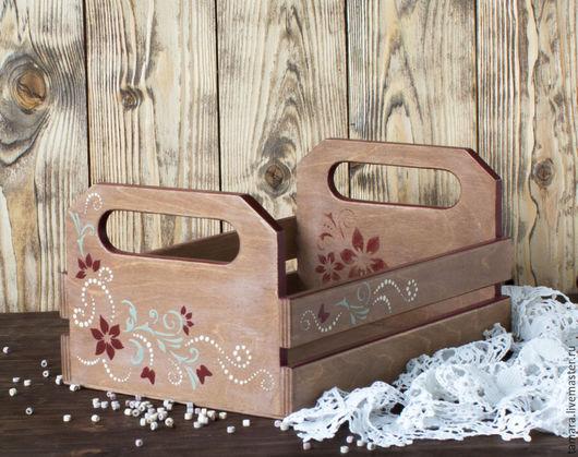 Деревянный ящик в подарок женщине. Красивое морение цвета какао с молоком. объемный узор. Подарок на любой случай для мамы, сестры, жены.