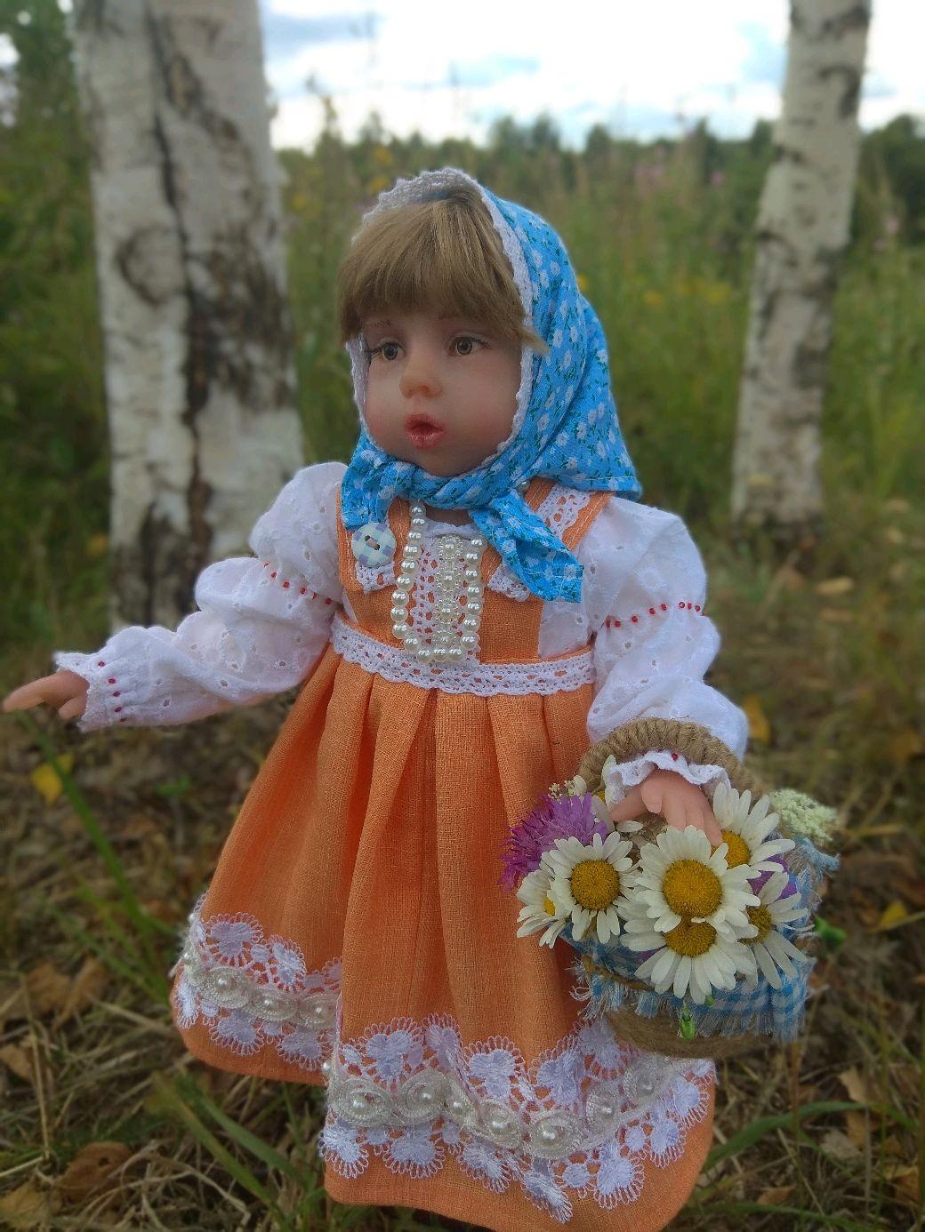 Кукла Маша, Куклы и пупсы, Осташков,  Фото №1