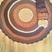 Для дома и интерьера ручной работы. Ярмарка Мастеров - ручная работа Ковер шоколад. Handmade.