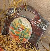 """Для дома и интерьера ручной работы. Ярмарка Мастеров - ручная работа """"Под солнцем Тосканы"""" вешалка. Handmade."""