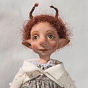 """Куклы и игрушки ручной работы. Ярмарка Мастеров - ручная работа Букашка """"Рыжик"""". Handmade."""