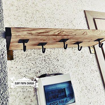 Мебель ручной работы. Ярмарка Мастеров - ручная работа Вешалка для прихожей. Handmade.
