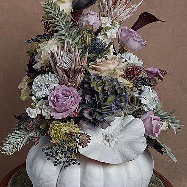 Для дома и интерьера ручной работы. Ярмарка Мастеров - ручная работа Интерьерная композиция «Осень». Handmade.